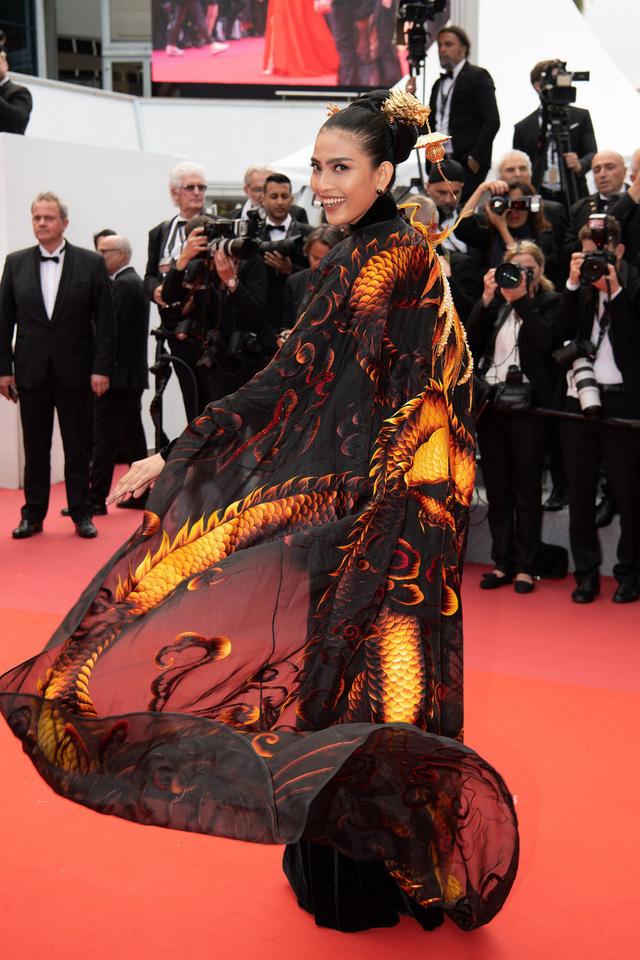 Trương Thị May diện áo dài lộng lẫy trên thảm đỏ Cannes 2019 - Ảnh 5.