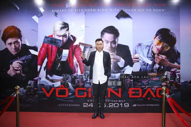 Xuân Nghị, Huỳnh Anh lịch lãm trên thảm đỏ trong ngày ra mắt phim Vô gian đạo - Ảnh 3.