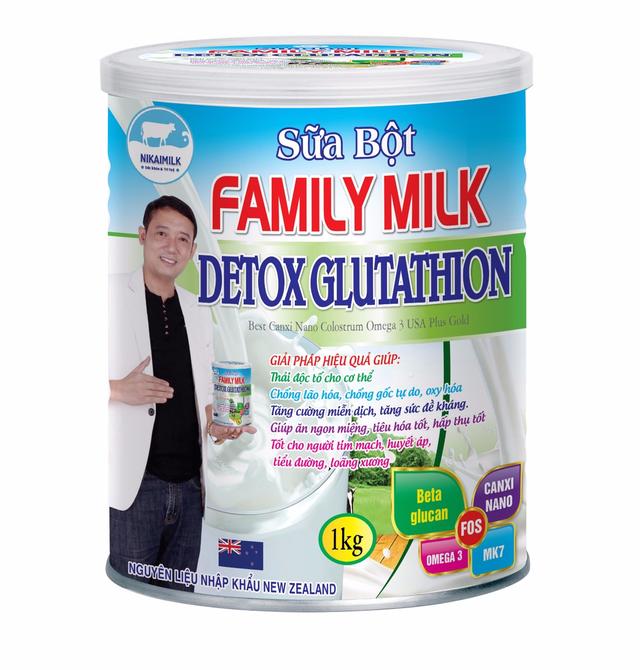 Sữa Family milk detox glutathion - món quà tuyệt vời của mọi gia đình - Ảnh 1.