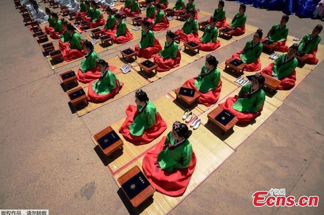 Lễ trưởng thành ở Hàn Quốc - Ảnh 1.