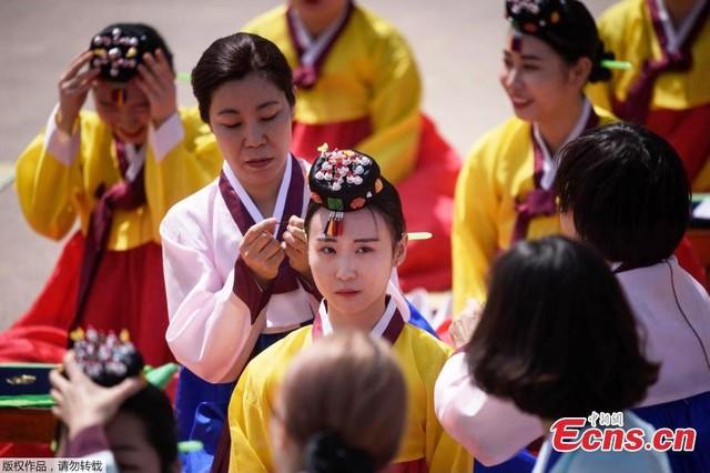 Lễ trưởng thành ở Hàn Quốc - Ảnh 5.