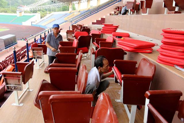 Phú Thọ đẩy nhanh công tác chuẩn bị cho trận giao hữu U23 Việt Nam - U23 Myanmar - Ảnh 11.