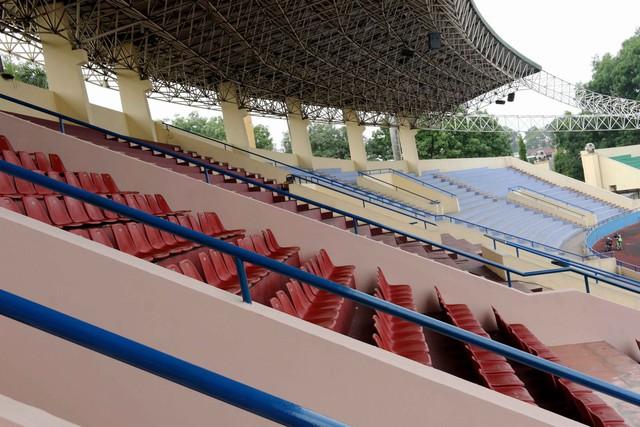 Phú Thọ đẩy nhanh công tác chuẩn bị cho trận giao hữu U23 Việt Nam - U23 Myanmar - Ảnh 12.