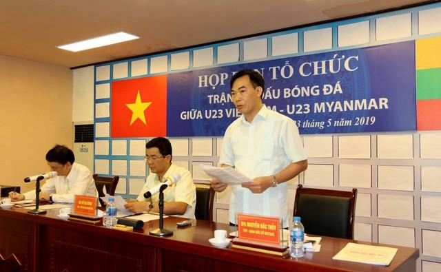 Phú Thọ đẩy nhanh công tác chuẩn bị cho trận giao hữu U23 Việt Nam - U23 Myanmar - Ảnh 4.