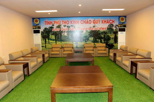 Phú Thọ đẩy nhanh công tác chuẩn bị cho trận giao hữu U23 Việt Nam - U23 Myanmar - Ảnh 7.