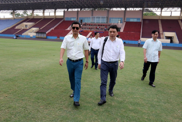 Phú Thọ đẩy nhanh công tác chuẩn bị cho trận giao hữu U23 Việt Nam - U23 Myanmar - Ảnh 8.