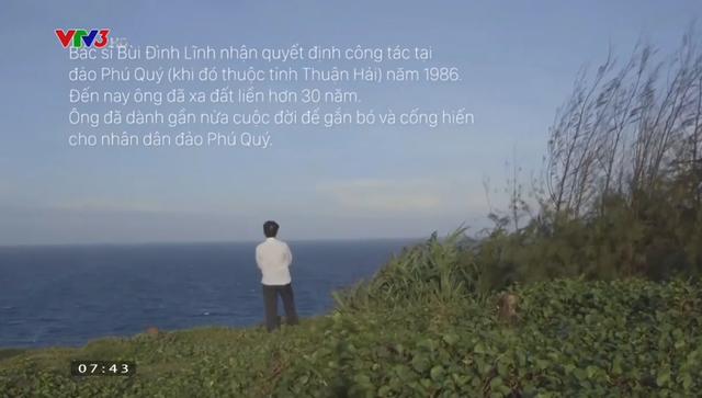 Câu chuyện về bác sĩ hơn 30 năm gắn bó trên đảo xa - Ảnh 1.