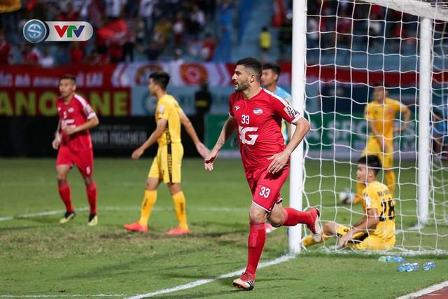 ẢNH: CLB Viettel thắng dễ CLB Hải Phòng trong trận cầu có 2 thẻ đỏ - Ảnh 3.
