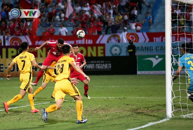 ẢNH: CLB Viettel thắng dễ CLB Hải Phòng trong trận cầu có 2 thẻ đỏ - Ảnh 2.