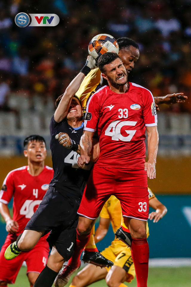 ẢNH: CLB Viettel thắng dễ CLB Hải Phòng trong trận cầu có 2 thẻ đỏ - Ảnh 9.