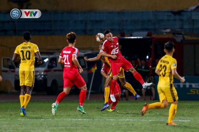 ẢNH: CLB Viettel thắng dễ CLB Hải Phòng trong trận cầu có 2 thẻ đỏ - Ảnh 1.