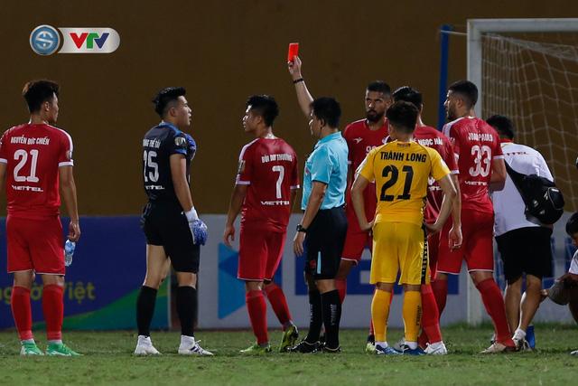ẢNH: CLB Viettel thắng dễ CLB Hải Phòng trong trận cầu có 2 thẻ đỏ - Ảnh 4.