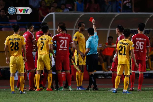 ẢNH: CLB Viettel thắng dễ CLB Hải Phòng trong trận cầu có 2 thẻ đỏ - Ảnh 6.
