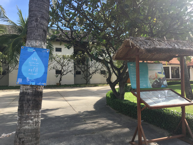 Nhiều resort tại Bình Thuận nói không với rác thải nhựa - Ảnh 1.