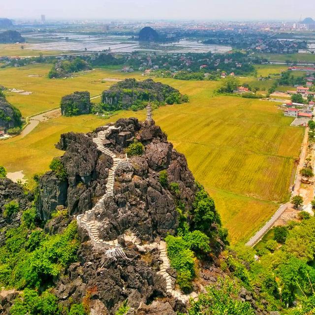 Ngắm mùa vàng Tam Cốc từ đỉnh Hang Múa - ảnh 2