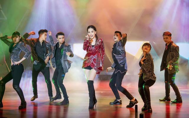Á hậu Phương Nga vừa cover vừa nhảy bài hit của Hồ Ngọc Hà - Ảnh 1.