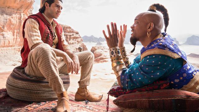 Aladdin đứng đầu doanh thu phòng vé cuối tuần - Ảnh 2.