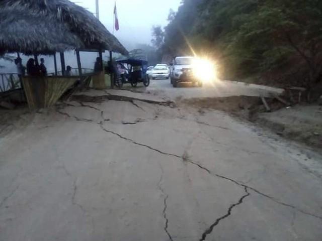 Động đất mạnh 8 độ richter làm rung chuyển Peru - Ảnh 4.
