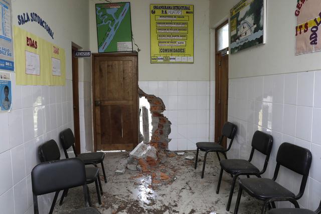 Động đất mạnh 8 độ richter làm rung chuyển Peru - Ảnh 6.