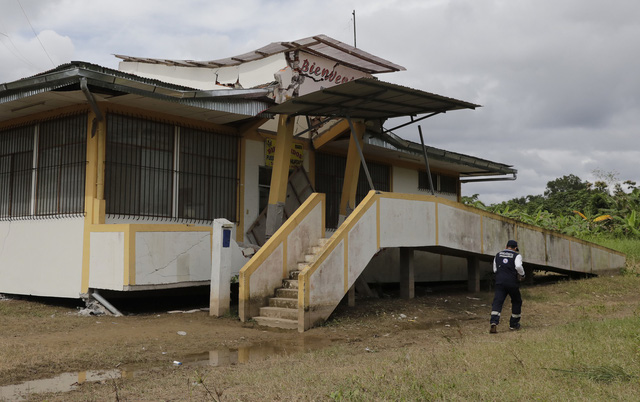 Động đất mạnh 8 độ richter làm rung chuyển Peru - Ảnh 7.