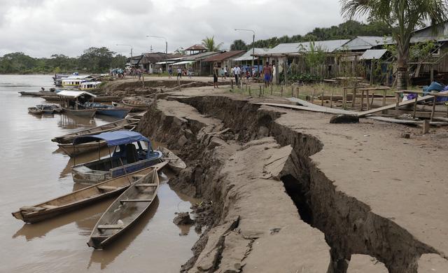 Động đất mạnh 8 độ richter làm rung chuyển Peru - Ảnh 8.