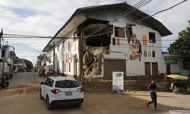 Động đất mạnh 8 độ richter làm rung chuyển Peru - Ảnh 9.