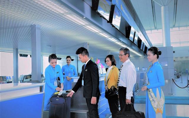 Vietnam Airlines triển khai dịch vụ làm thủ tục hàng không nhanh chóng - Ảnh 1.