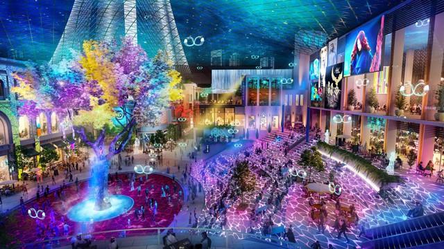 Dubai chuẩn bị ra mắt siêu trung tâm thương mại biết sống và thở - ảnh 9