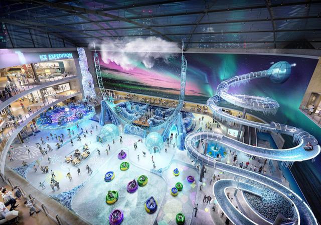 Dubai chuẩn bị ra mắt siêu trung tâm thương mại biết sống và thở - ảnh 7