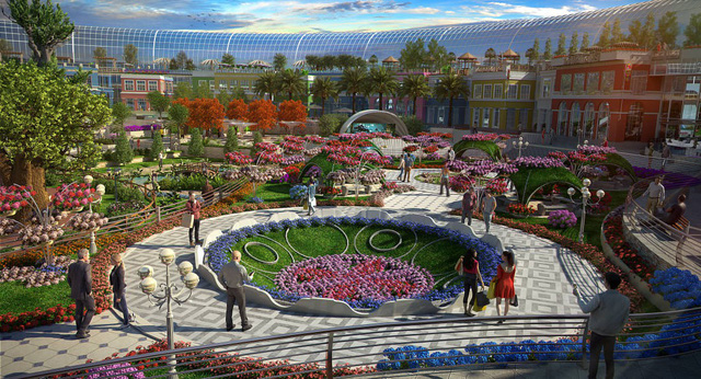 Dubai chuẩn bị ra mắt siêu trung tâm thương mại biết sống và thở - ảnh 6