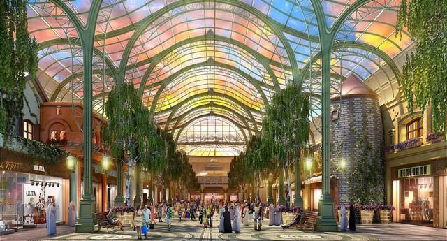 Dubai chuẩn bị ra mắt siêu trung tâm thương mại biết sống và thở - ảnh 5