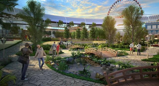 Dubai chuẩn bị ra mắt siêu trung tâm thương mại biết sống và thở - ảnh 4