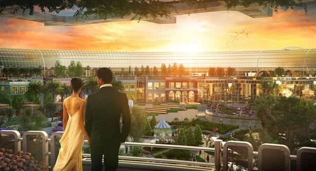 Dubai chuẩn bị ra mắt siêu trung tâm thương mại biết sống và thở - ảnh 3