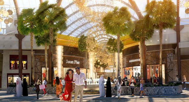 Dubai chuẩn bị ra mắt siêu trung tâm thương mại biết sống và thở - ảnh 2