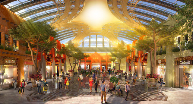 Dubai chuẩn bị ra mắt siêu trung tâm thương mại biết sống và thở - ảnh 1