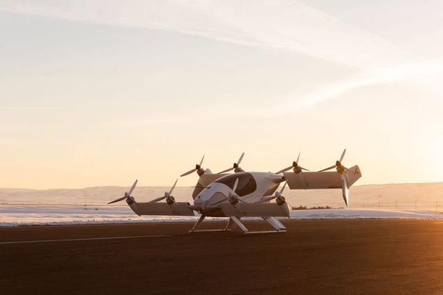 Độc đáo taxi bay của Airbus sắp tung ra thị trường - Ảnh 1.