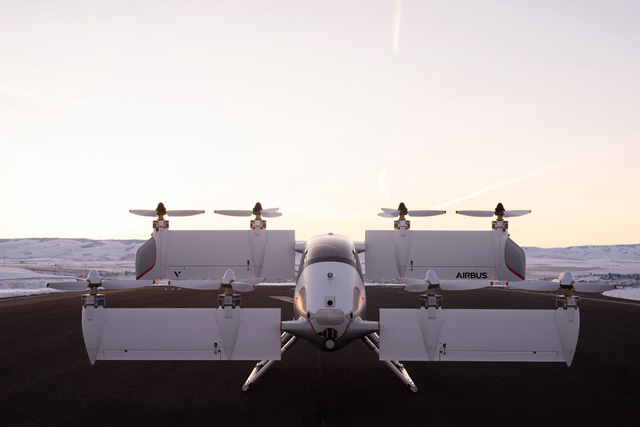 Độc đáo taxi bay của Airbus sắp tung ra thị trường - Ảnh 3.