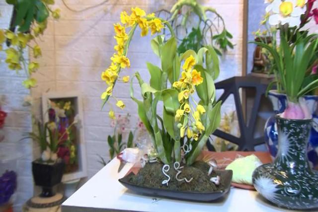 Độc đáo dịch vụ nặn hoa từ đất sét - Ảnh 5.