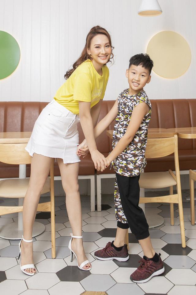 Bảo Thanh lần đầu rủ con trai làm người mẫu - Ảnh 4.