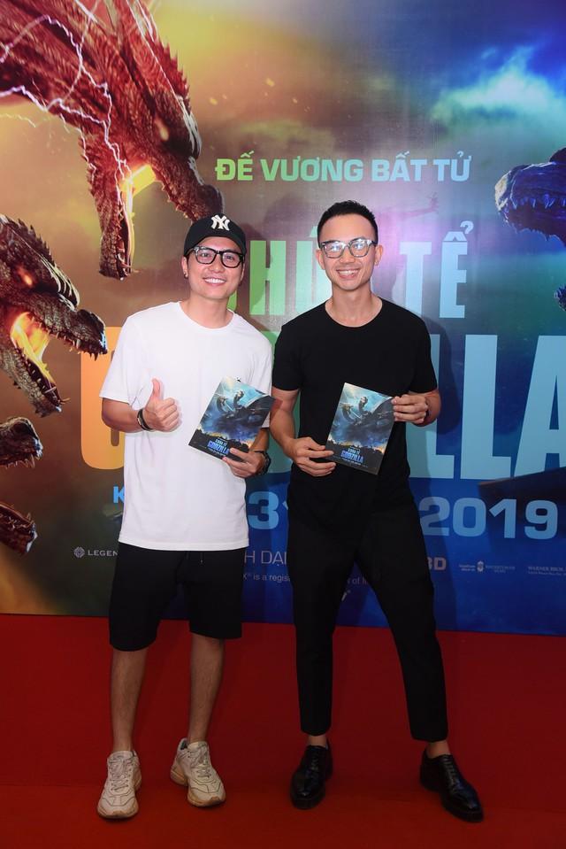 Dàn sao Việt phát cuồng vì Chúa tể Godzilla - Ảnh 4.