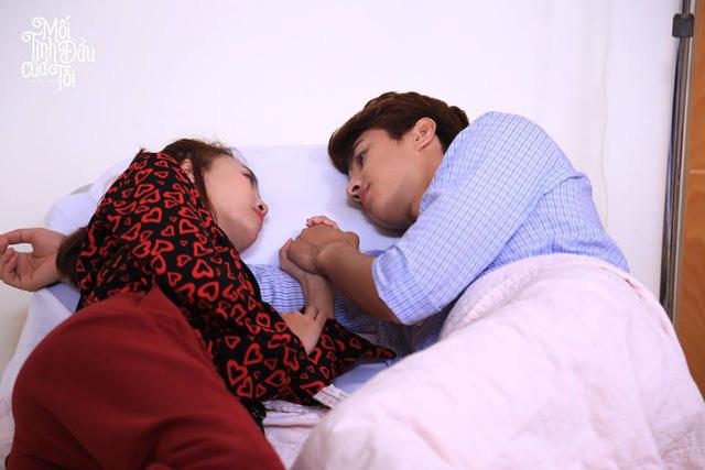Loạt ảnh tình bể bình của cặp đôi chính phim Mối tình đầu của tôi - Ảnh 4.