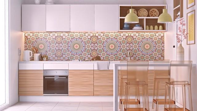 Những tủ bếp được thiết kế độc đáo như tủ để quần áo - Ảnh 1.