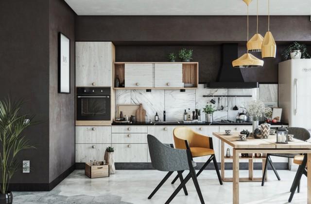Những tủ bếp được thiết kế độc đáo như tủ để quần áo - Ảnh 12.