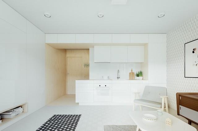 Những tủ bếp được thiết kế độc đáo như tủ để quần áo - Ảnh 5.