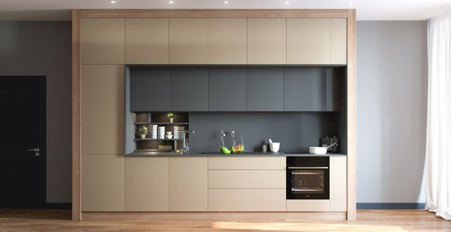 Những tủ bếp được thiết kế độc đáo như tủ để quần áo - Ảnh 6.