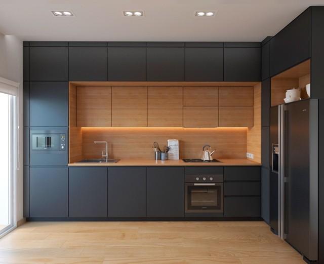 Những tủ bếp được thiết kế độc đáo như tủ để quần áo - Ảnh 7.