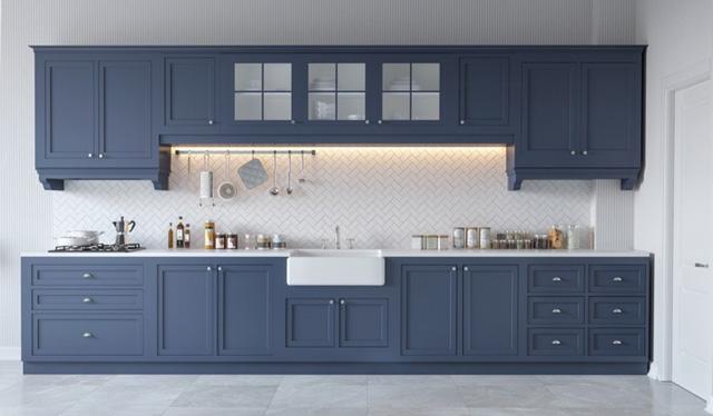 Những tủ bếp được thiết kế độc đáo như tủ để quần áo - Ảnh 9.
