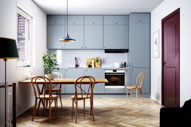 Những tủ bếp được thiết kế độc đáo như tủ để quần áo - Ảnh 10.