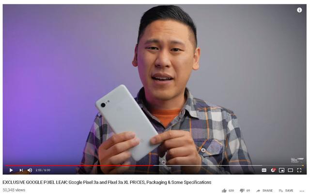 Google dự kiến ra mắt smartphone giá 400 USD - Ảnh 1.