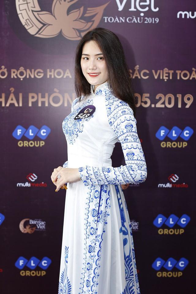Hoa hậu Bản sắc Việt toàn cầu 2019: Thêm nhiều gương mặt sáng từ Hải Phòng - Ảnh 5.